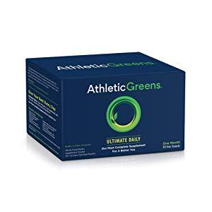 Athletic Greens Ultimate Daily Green Juice Powder Packs