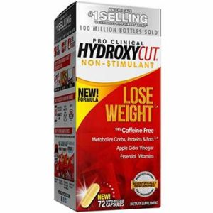 Hydroxycut Pro Clinical Non-Stimulant Weight Loss Supplements