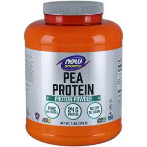 Now Sports Pea Protein Natural Unflavored Powder
