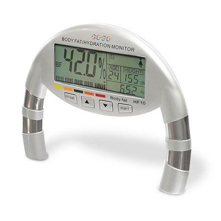 Goso handheld body fat and hydration monitor