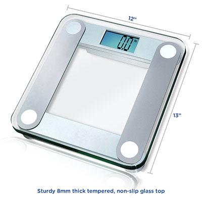 eatsmart precision digital bathroom scale review - body fat genius