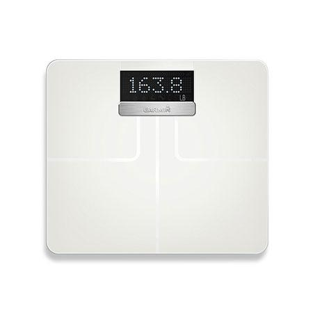 Garmin Index smart scale in white color