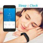 Sleep tracking with letscom - woman sleeping