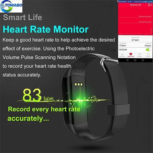 Towabo heart rate tracking features ad