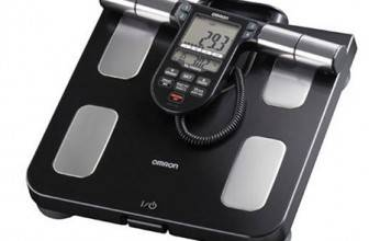 Omron body composition monitor with scale review