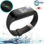 Towabo fitness tracker on water