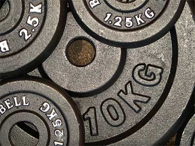 gym weight plates