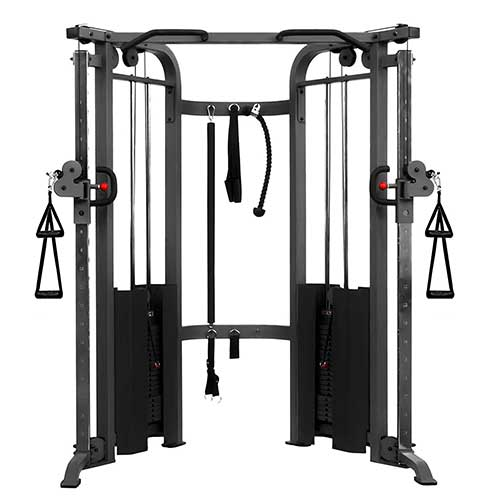 XMARK functional trainer machine, black color