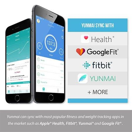 Apps compatible with the yunmai color scale